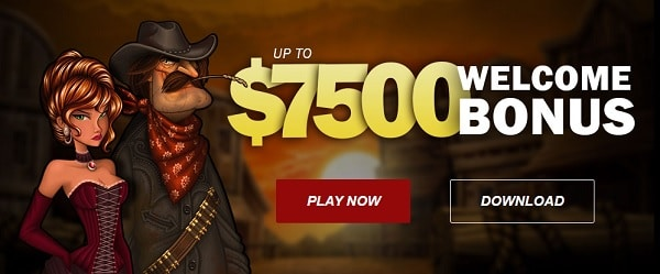 $7500 welcome bonus for new players