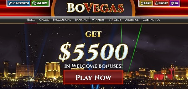 $5,500 welcome bonus
