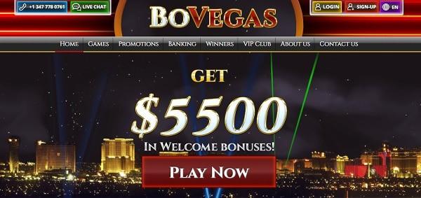 $5,500 welcome bonus