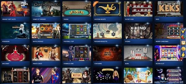 Casino-Z.com Games