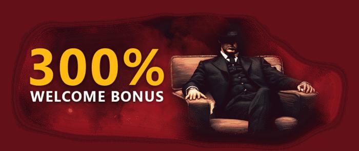 $30 Free Cash and 300% welcome bonus (promo code)
