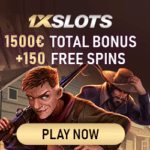 1xSlots Casino Review 150 free spins and 1,500 EUR bonus