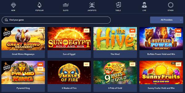 Slots and Virtual Games
