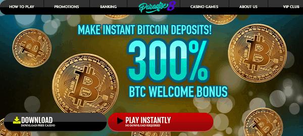 300% BTC Bonus