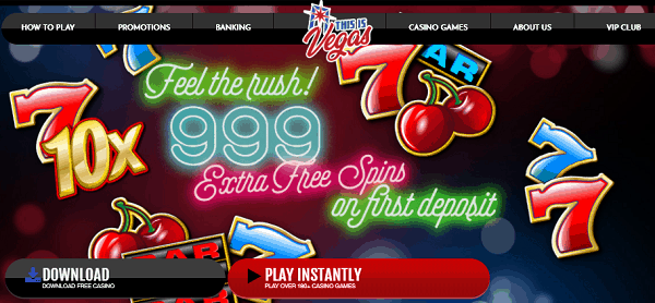 999 free spins promotion
