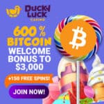 Ducky Luck Casino [register & login] 600% Free Bitcoin Bonus