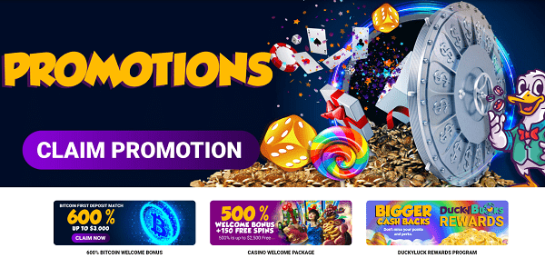 Claim Free Promotions