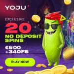 Is Yoju Casino legit? Claim 20 free spins no deposit bonus!
