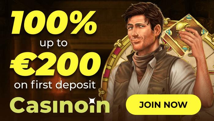100% bonus and 15 free spins
