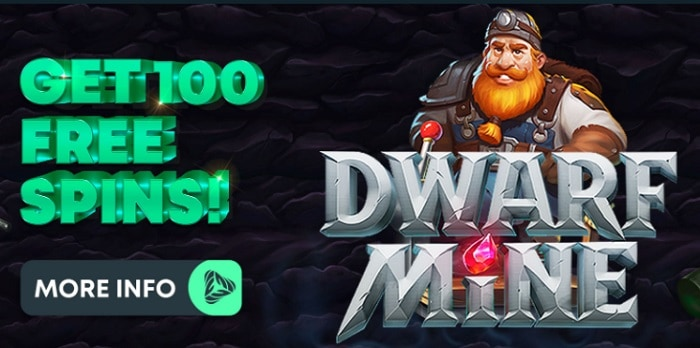 100 free spins on sign up