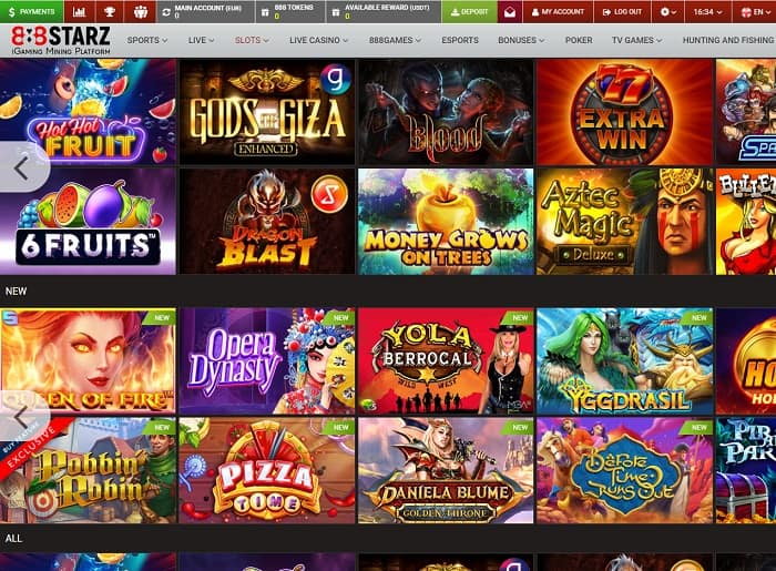 888STARZ Casino and Sports Review