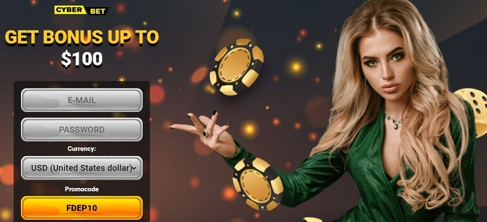 Register and Play with $100 free money!