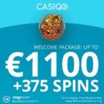 How to get €1100 bonus & 375 free spins to CasiGO Casino?
