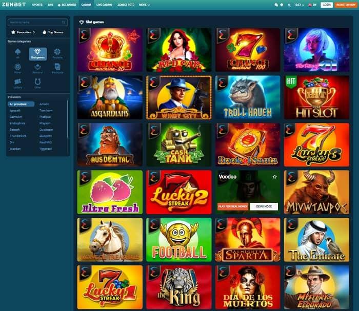 Zen Casino free spins